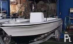 "Model: Barkley ""BOWRIDER"" (Australia) Hull: Fibreglass"