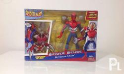 Spider-man Spider sense figure Still in box like new