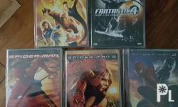 2nd hand DVD consist of the following: Spiderman 1