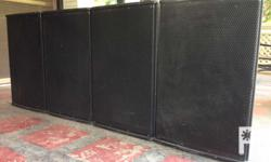 """SPL powered speakers 15"""" 300watts Php 40,000.00 Fixed"""