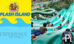 Deskripsiyon 60% OFF at Splash Island for non-stop