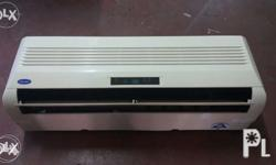 1 HP split type aircon (CARRIER) All units are tried