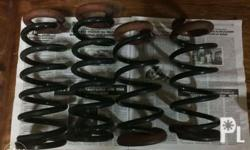 Spoon lowering springs Good condition Rfs: back to