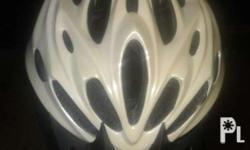 slightly used helmet for sale at Php500 negotiable...