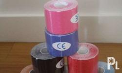 sports tape in various colors available at La Femara