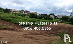 SUBDIVISION LOT FOR SALE! SPRING HEIGHTS II Located at