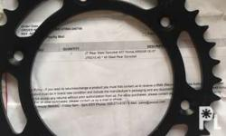 For sale: Jawzy's powersports Rear steel sprocket for