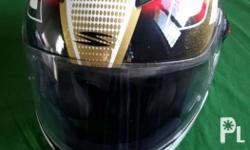 Hi I'm selling my father's used spyder helmet.