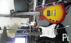 Deskripsiyon used squire fender gtr.extra gtr.epiphone