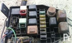 mercedes benz / ssangyong musso parts FUSE BOX selling