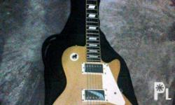 STAGG LP FOR SALE SPARKLING GOLD TOP A 57Ri les paul