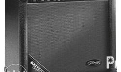 This versatile portable acoustic guitar amp from Stagg