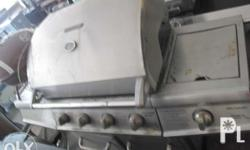 im selling barbeque grill stainless solid we sell as is