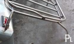 For sale only Stainless carrier for tryke Price: 700