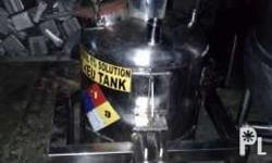 100 liters capacity stainless mixing tank with
