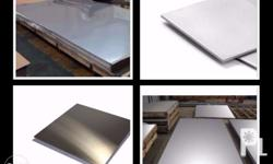 Stainless Sheet Plate (Mirror Finish) Size: 4' x 8'