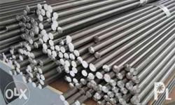 stainless steel round bar we supply, fabricate and