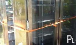 Stainless Steel shop display refrigeration units