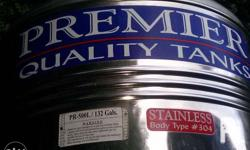 STAINLESS water tank 500L