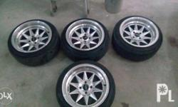 Ruff racing mags 15 x 8.5 pcd 100 stance mags with