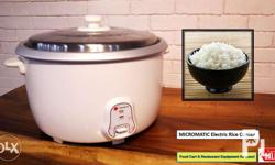 Bnew Heavy Duty Rice Cooker Electric type PRICE: