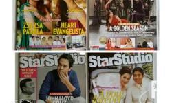 Star Studio Magazines Only 60 pesos each Call or Text