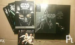 Star Wars 4-pc DVD set Mint condition Collectible set