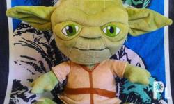Yoda plush 12 inches - Php 500 Watto plush 10 inches