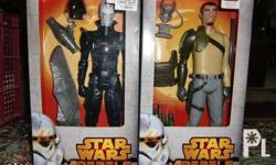 I am selling an MIB Star Wars Rebels The Inquisitor and