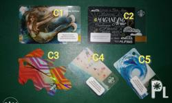 C1 and C2 - Php 150 each C3 - C5 - Php 200 each Note: