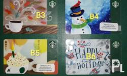 Promotional Starbucks Cards (Philippines) Everything is