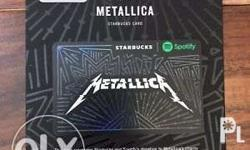 Starbucks spotify card set
