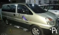 2006 Hyundai Starex GRX AUTOMATIC Crdi turbo All power