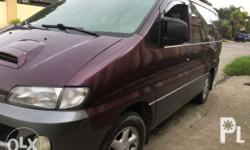 For Sale Only Hyundai Starex SVX(Local Purchase,not
