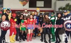 Starwars Cosplay and other superheroes / anime costumes