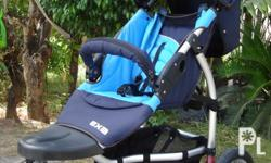 STEELCRAFT EX3 3 WHEEL STROLLER Easy release pneumatic