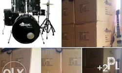 Steely drum set New in the box ,full size , complete