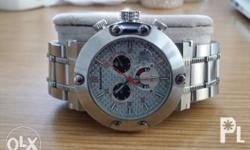 Very heavy solid stainless steel watch bought from US 3