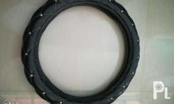 leather steering cover from Japan very good condition