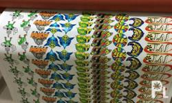 We offer high quality of all kinds stickers, your