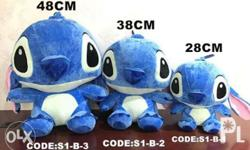 Stitch stuff toys Huggable and siksik Perfect gift Size
