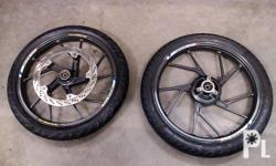 for sale or swap stock flaring raider 150 color gray or