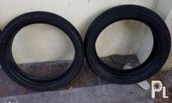 Selling stock tires (Ninja 300) 110/70 R17 Front 140/70