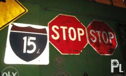 im selling assorted usa street signs they are big on