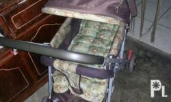 Stroller at Duyan. 1600 take both. Good condition.