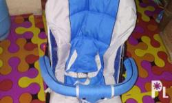 Stroller . Color Blue Slightly used . Negotiable .
