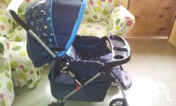 Sturdy stroller as new condition. Big usefull basket