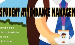 We develop STUDENT ATTENDANCE MANAGEMENT SYSTEM that