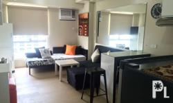 A Newly turned over fully furnished studio unit located