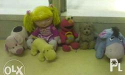 I am selling my stuff toys, each item you see on the